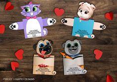 Puppy Dog Pals Valentine S Day Cards Bingo Rolly Hissy Keia Kids