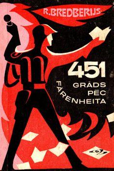 Latvian Edition of Fahrenheit 451 (1975)