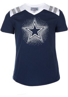 This Cowboys Girls Decker Short Sleeve Fashion Tee is a great way to make a bold statement for your favorite team! Rally House has a great selection of new and exclusive Dallas Cowboys t-shirts, hats, gifts and apparel, in-store and online. Dallas Cowboys Signs, Dallas Cowboys Pro Shop, Cowboys Gifts, Cowboys Shirt, Cowboy Store, Cowboy Accessories, Cowboy Girl, Tees, Computer Technology