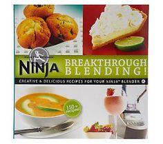 Recipes for my new Ninja!