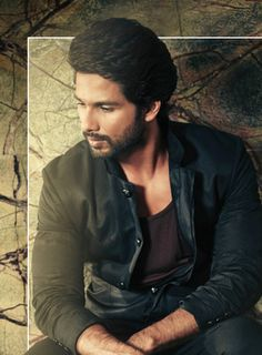 Shahid Kapoor poses for his latest photoshoot for Hello! India magazine's October 2013 issue. #Bollywood #Fashion #Style