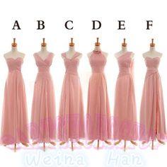 2014 Custom chiffon long dress long homecoming by babyshoesstoy, $119.00