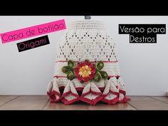 Capa de Botijão de #crochê - Artes da Desi - YouTube