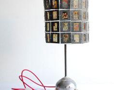 Marvel Comics. Handcrafted industrial slides desk lamp
