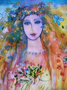 "Saatchi Art Artist: Alice Lenkiewicz; Acrylic 2012 Painting ""SUMMER"""