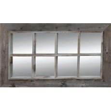 Rustic Mirrors | Reclaimed Wood, Distressed Wood, Iron