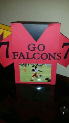 foto de valentines day football box I made for my 6 year old son Turned out great He loves it