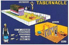 Amazon.com: Little Folks Visuals Tabernacle Pre Cut Felt Set: Toys & Games