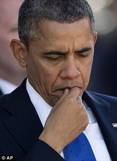 President Barack Obama pauses during a memorial service for the late Sen. Daniel Inouye.