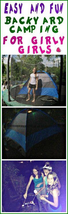 Epic Childhood: Camping Sleepover