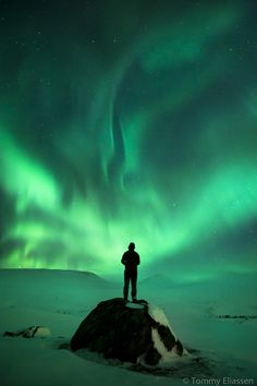 Aurora Borealis in Norway.  This photo looks very sacred to me