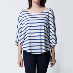 Circle Top Women's Stripe now featured on Fab.