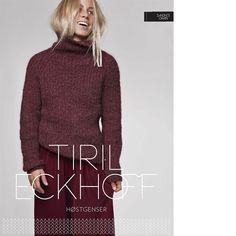 Tiril Høstgenser og hue - Tiril Eckhoff for Sandnes Garn. Køb hos Citystoffer Knitting Sweaters, Girl Humor, Knitting Designs, Kobe, Knit Crochet, Blouses, Turtle Neck, Fashion, Knitting Projects