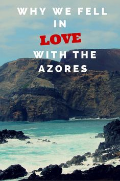 Why We Fell in Love With the Azores and Why You Will Too! Travel to the Azores Islands, Portugal Beautiful Places To Visit, Oh The Places You'll Go, Places To Travel, Travel Destinations, Travel Tips, Amazing Places, Travel Stuff, Amazing Destinations, Beautiful Beaches