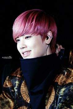I love his smile so much #choijunhong #zelo #b.a.p