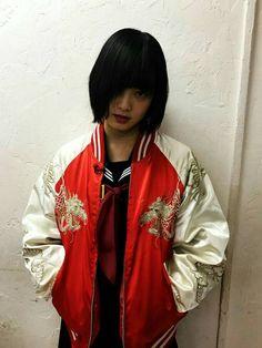 ヤンキー×てち! Japanese Fashion, Japanese Girl, Japanese Gangster, Samoan People, Gangster Girl, Classy Girl, Girl Short Hair, Ulzzang Girl, Girl Boss