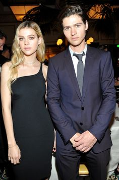 Nicola Peltz in Stella McCartney and Will Peltz