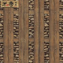 wood and stone wall - Google Search