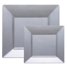 Square Silver Plastic Dinnerware Value Pack - Smarty Had A Party Table Setting Design, Picnic Decorations, Value Set, Plastic Dinnerware, Plastic Plates, Dinner Plates, Layout Design, Silver Color, Tablescapes