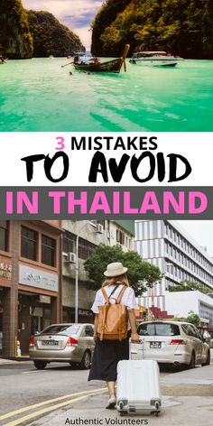 Thailand is a beautiful country but there are some things you shouldn't do and have to be careful about. Here I have mentioned 3 mistake you should avoid! Thailand Travel Guide, Visit Thailand, Thai Travel, Solo Travel, Travel Tips, Asia Continent, Have A Nice Trip, Travel Necessities, Phuket