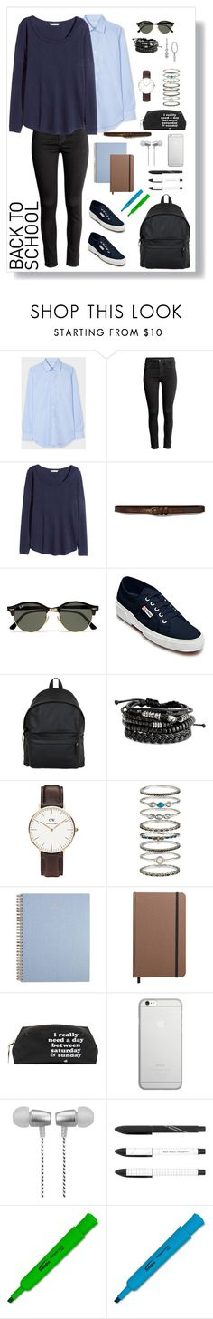 """Senza titolo #127"" by mariaantonietta8 ❤ liked on Polyvore featuring Paul Smith, H&M, Abercrombie & Fitch, Ray-Ban, Superga, Eastpak, Daniel Wellington, Accessorize, Shinola and Native Union"