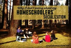 Do you worry about your homeschooled kids' socialization? Let Annie put your concerns to rest once and for all.