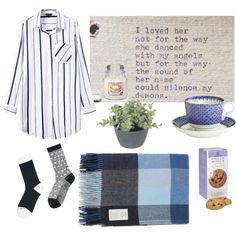 Home by asharel on Polyvore featuring polyvore, interior, interiors, interior design, home, home decor, interior decorating, Avoca, Mottahedeh and Uniqlo