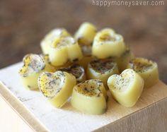 Honey Lavender Homemade Relaxing Bath Melts. Nx