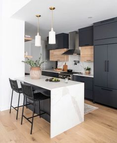 Fantastic kitchen style are available on our web pages. Have a look and you will not be sorry you did. Apartment Kitchen, Home Decor Kitchen, One Wall Kitchen, Urban Kitchen, Kitchen Ideas, Small Condo Kitchen, G Shaped Kitchen, Condo Kitchen Remodel, Loft Kitchen