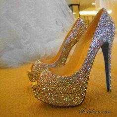 Glittery shoes ~ Always