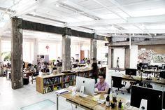 JOB-(杭州)零壹城市建筑事务所/LYCS Architecture-- 运营总监/主创建筑师/建筑师/施工图设计师/助理建筑师/平面设计助理/效果图设计师/实习生 - 谷德设计网 M Office, Office Workspace, Bureau Design, Corporate Office Design, Architecture Office, Coworking Space, Decoration, Interior Design, Mirror