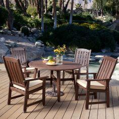Coral Coast Cabos Collection Patio Dining Set - Seats 4 - Patio Dining Sets at Hayneedle