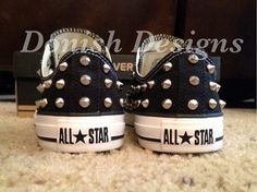 Items similar to Studded Converse Shoes (FULLY STUDDED) on Etsy 9c4496365