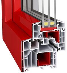aluplast IDEAL 8000 aluskin  Έχετε την δυνατότητα να αγγίξετε το τέλειο με Uw= 0,67 W/m²K. Εξαθαλαμικό προφίλ με τρία επίπεδα σφράγισης.Πάχος υάλωσης έως 59mm.