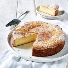 must try basque cake; flaky crust surrounds a pastry cream in this traditional dessert from the Basque region of france Basque Cake, Basque Food, Desserts Français, French Desserts, Plated Desserts, French Cake, French Food, Cake Ingredients, Let Them Eat Cake