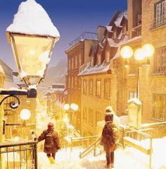 Wonderful Quebec City http://www.travelandtransitions.com/destinations/destination-advice/north-america/