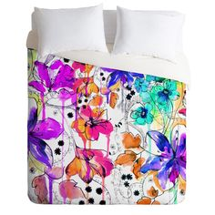 Holly Sharpe Lost In Botanica 1 Duvet Cover | DENY Designs Home Accessories probably my duvet for the house next year!!! $189