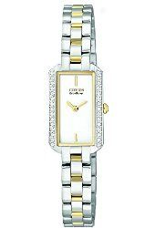 Citizen Women's EG2784-58A Eco-Drive Silhouette Crystal Watch