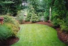 Image result for red mulch vs brown mulch
