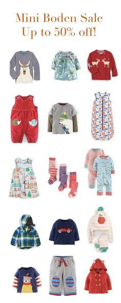 I LOVE Mini Boden for my kids!  And now it's up to 50% off! Time to stock up! http://rstyle.me/n/vanzdnyg6
