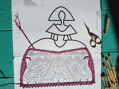 menina Drawing Templates, Bobbin Lace, Collage, Drawings, Ideas Para, Girls, Lace Shawls, Applique Quilts, Embroidered Cushions