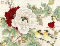 """Natures Gift"" - Original Fine Art for Sale - © Jinghua Gao Dalia"