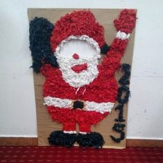 santa claus bulletin board