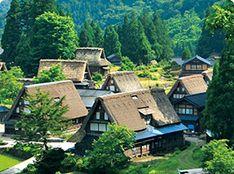 World Heritage Site, Historic Villages of Gokayama Gokayama, Japan Tourism, Travel Information, World Heritage Sites, Osaka, Arch, Cabin, House Styles, Home