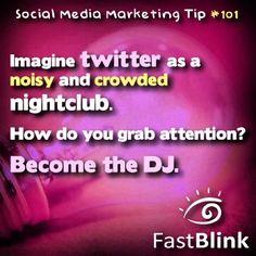 Social Media Marketing Tip #101