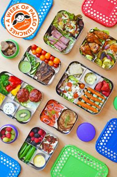 Epic Roundup of Paleo Packed School Lunches! | Nom Nom Paleo | Bloglovin'