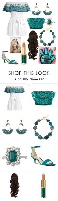 """love it"" by ramansharma ❤ liked on Polyvore featuring Mara Hoffman, Mar y Sol, Atelier Mon, Nest, Nine West and Balmain"