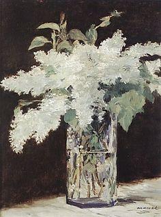 Values of white - Edouard Manet White Lilacs