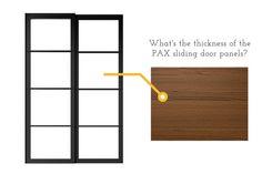 Hackers Help: Thickness of the sliding door panels? - IKEA Hackers http://www.ikeahackers.net/2017/07/sliding-door-panels-thickness.html?utm_campaign=crowdfire&utm_content=crowdfire&utm_medium=social&utm_source=pinterest