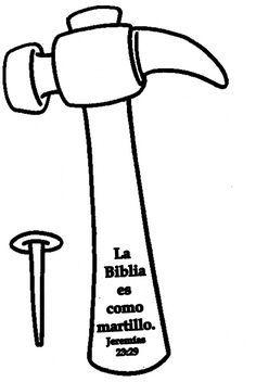 Los niños y la Biblia: Textos para colorear sobre la Biblia.